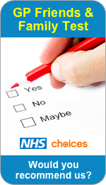 Would you recommend Moredon Medical Centre to Friends and Family?
